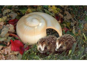 Domeček pro ježky šnek 35x16cm
