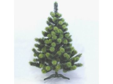borovice umela vanocni dve barvy 180cm
