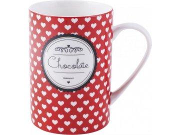 Hrnek Hearts Tall Chocolate