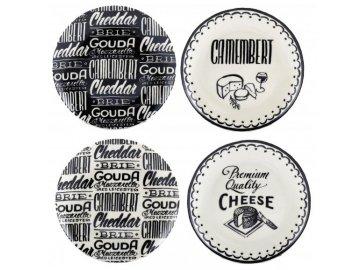 8432 dezertni talire gourmet cheese sada 4ks