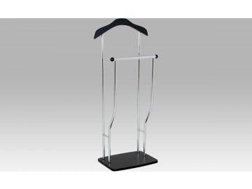 Němý sluha chrom černá 45x30x108cm