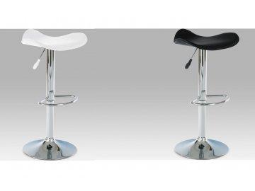 Barová židle koženková 45x43x76cm