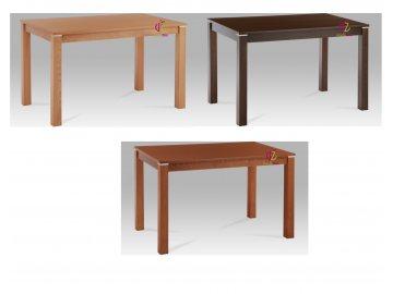 Jídelní stůl s kovovým zdobením 120x75cm