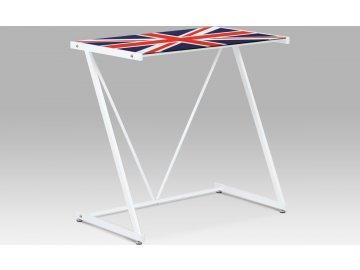 PC stolek | kovová konstrukce | s motivem vlajky