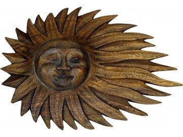 Dřevořezba Slunce