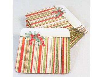 Korkové prostírání s vánočním motivem