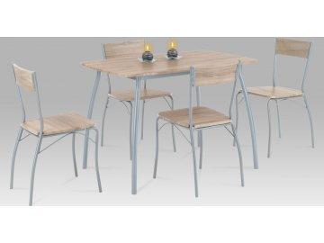Jídelní set - stůl a židle 4ks - Hans