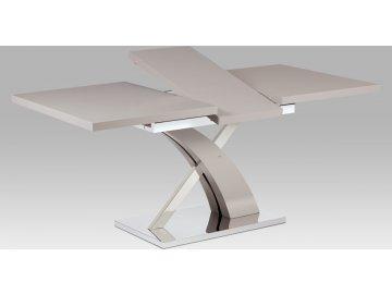 Jídelní stůl | rozkládací | mat nerez (Barva bílá)