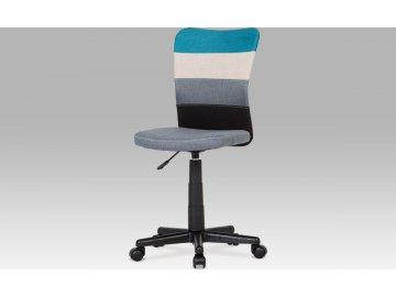 Kancelářská židle | látka mix barev