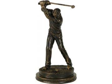 Soška Golfista | polyresin