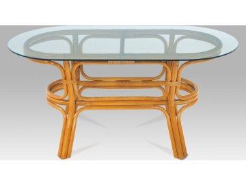Konferenční stolek ratanový 110x50x55cm