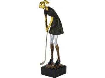 Soška Golfistka | polyresin
