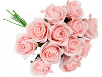 Kytice růžiček pěnových