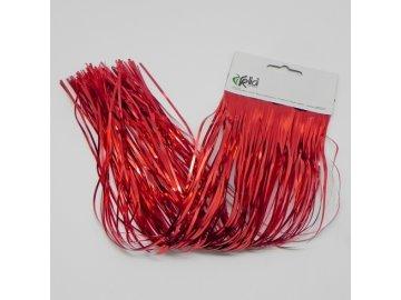 lameta vanocni 30cm cervena KL21230 R