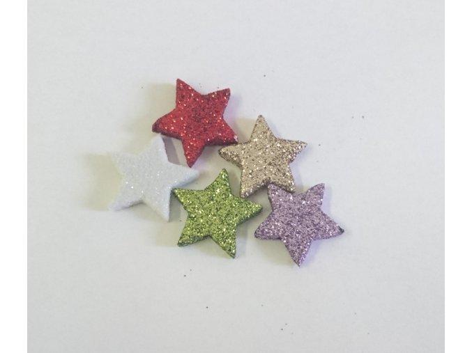Malá hvězda flitry