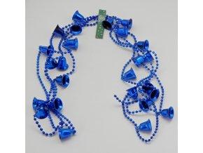vanoce retez zvonky 2 7m blue P2 9 D24B
