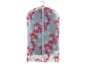 Ochranný obal na oblek s uzavíráním na zip s větvičkami