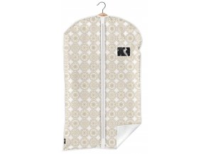 Ochranný obal na oblek s uzavíráním na zip s ornamenty