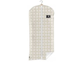 Ochranný obal na šaty s uzavíráním na zip s ornamenty