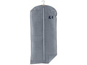 Ochranný obal na šaty s uzavíráním na zip šedý