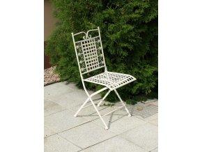 Kovová židle 40x46x94cm