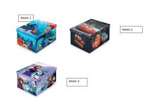 úložný box s rukojetí disney1