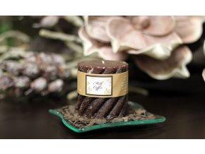 Svíčka vonná | vůně káva a čokoláda| 230g vosku | doba hoření 35hod