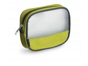 Uzavíratelný sáček zeleno-průhledný