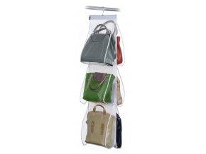 Závěsný organizér na kabelky s 6 kapsami