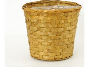 Hnědý obal z bambusu 20x20x17cm