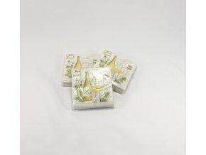 Papírové ubrousky víno Bianco
