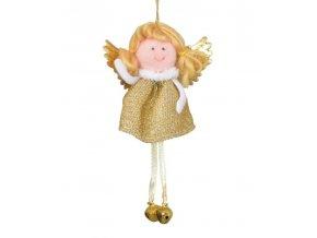 Anděl na zavěšení látkový