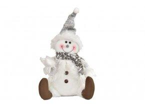 Sněhulák sedící