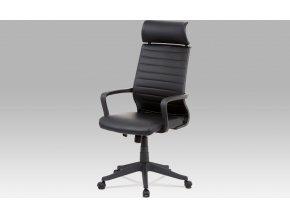 Kancelářská židle |koženka | plastový kříž | houpací mechanismus