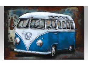 Obraz ručně malovaný | kovový| autobus