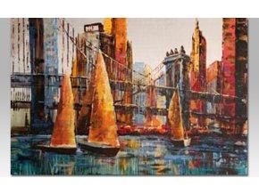 Obraz na plátně   olejomalba   ručně malovaný   New York