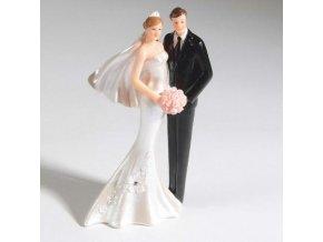 Figurka na dort nevěsta a ženich