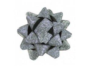 Rosetka samolepící glitter