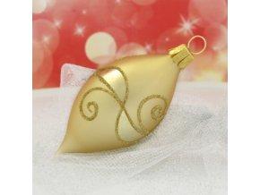 ST zlatá oliva zlaté spirály