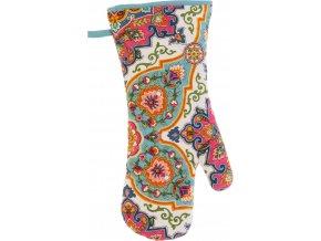 Kuchyňská rukavice s poutkem Moroccan Tiles