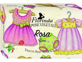 Italské mýdlo Bimbo Rosa