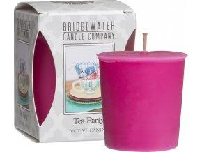 Votivní svíčka Tea Party