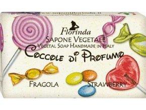 Italské mýdlo Fragola