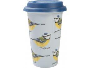 Cestovní hrnek Robin   ptáčci