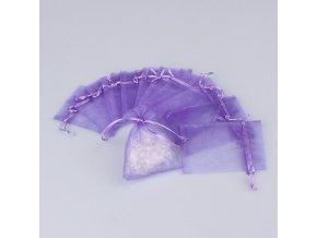 Vonný sáček na vonnou drť fialový 7,5×10cm