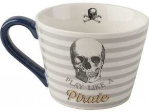 Porcelánový hrnek Captain Pirate