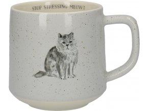 Porcelánový hrnek | kočka