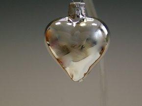 ST stříbrné srdce malé