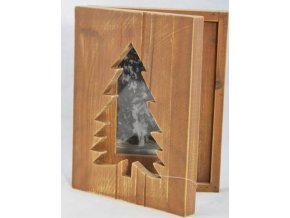 Dřevěný rámeček na fotku dřevěný