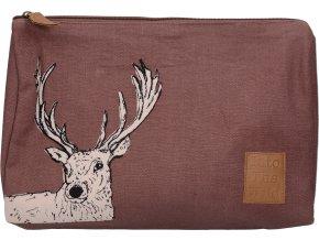 Kosmetická taška Into The Wild s jelenem